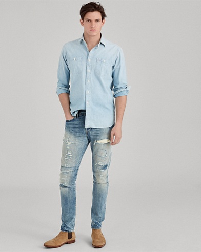Classic Fit Chambray Workshirt