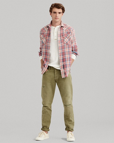Classic Fit Western Shirt
