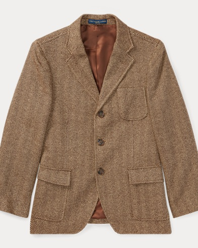 Wool-Silk Sport Coat