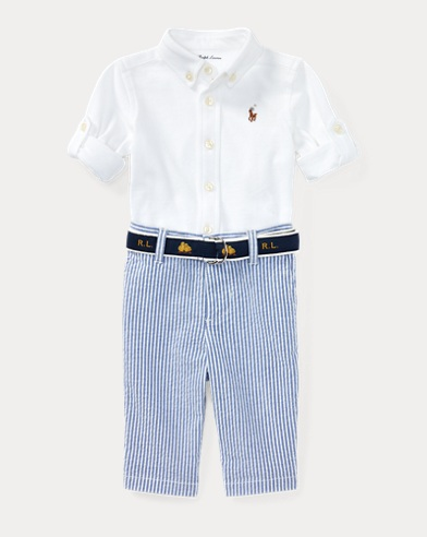 Shirt, Belt & Pant Set