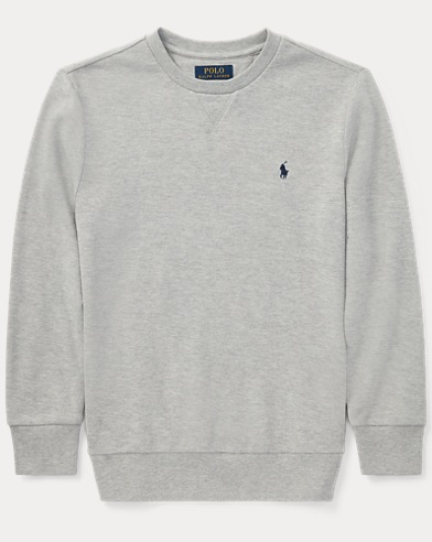 Cotton Mesh Crewneck T-Shirt