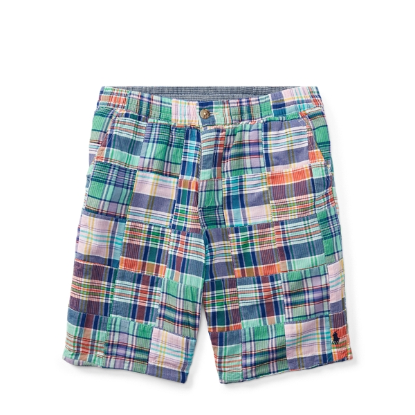 Ralph Lauren Straight Fit Reversible Short Patchwork 12