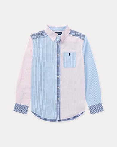 Cotton Seersucker Fun Shirt