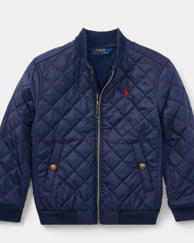 Quilted Baseball Jacket