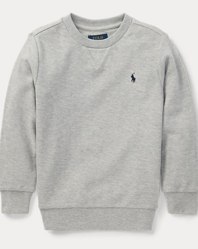 Cotton Mesh Crewneck Pullover