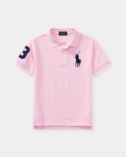 eaeebad64 Cotton Mesh Polo Shirt