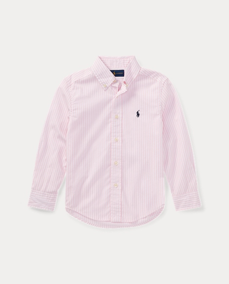 Striped Stretch Cotton Shirt