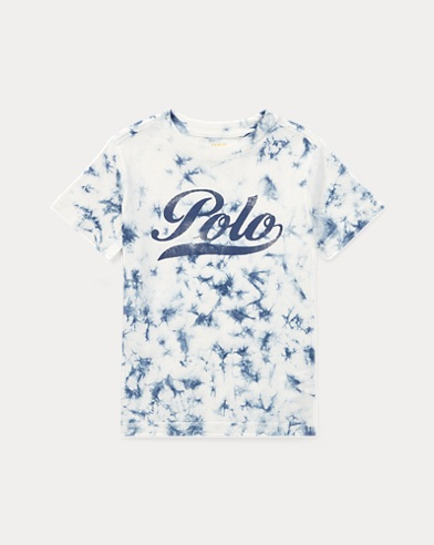 Tie-Dyed Cotton T-Shirt