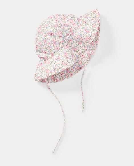 Floral Cotton Bucket Hat