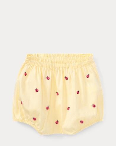 Ladybug Cotton Bloomer