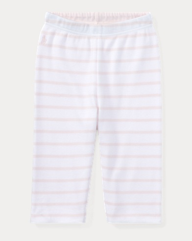 Striped Reversible Cotton Pant