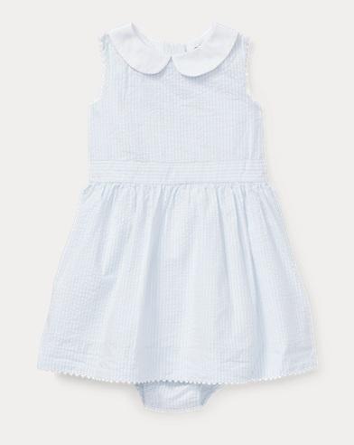 Seersucker Dress & Bloomer