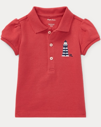 Lighthouse Cotton Polo Shirt