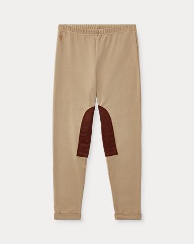 Stretch Jersey Jodhpur Legging