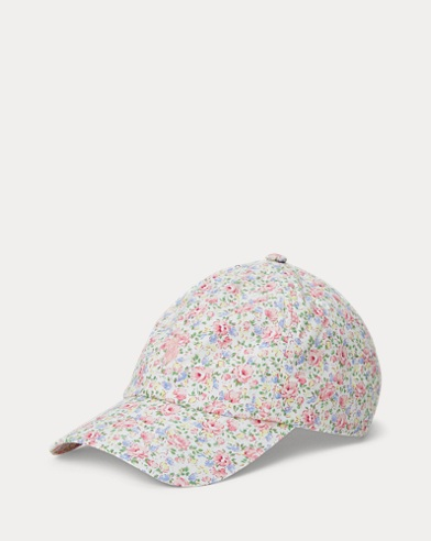Floral Cotton Baseball Cap