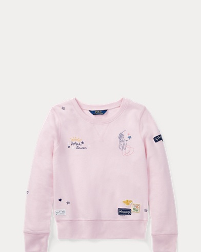 Embroidered Terry Sweatshirt