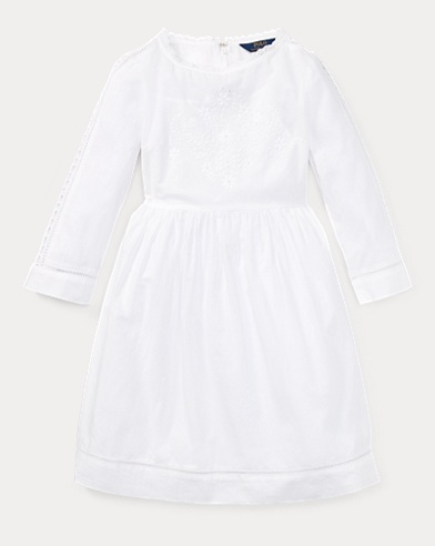 Embroidered Cotton Dress