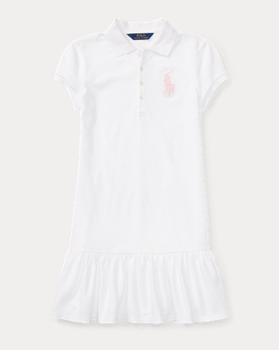 Big Pony Stretch Polo Dress