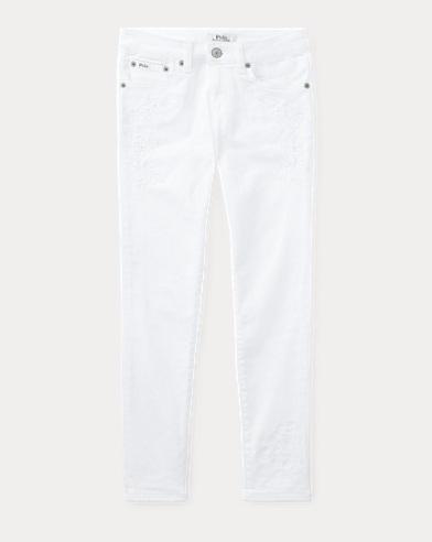 Tompkins Floral Skinny Jean