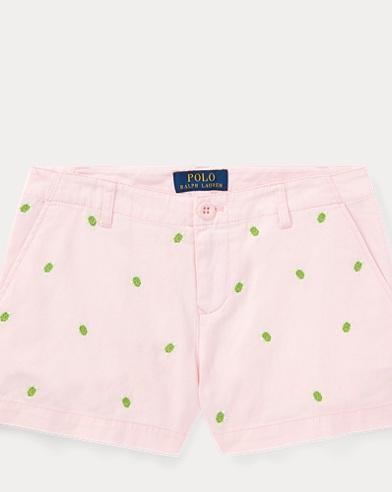 Turtle Cotton Chino Short