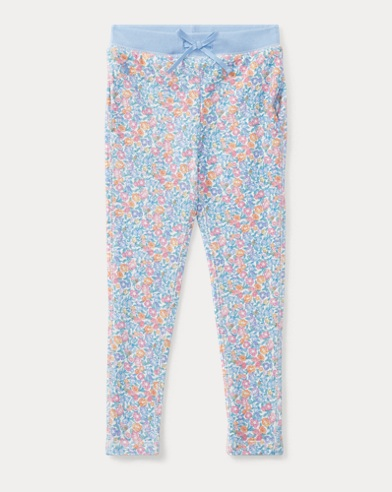Floral Atlantic Terry Pant