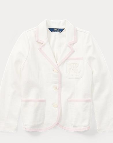 Cotton Jersey Cricket Blazer