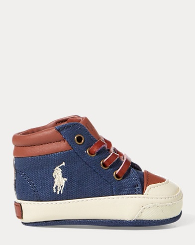 Geffron Canvas Mid-Top Sneaker
