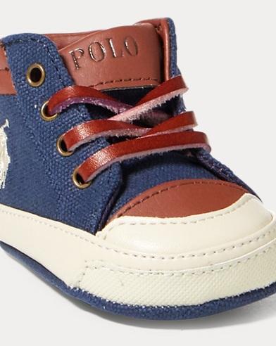 Geffron Canvas Mid-Top Sneaker