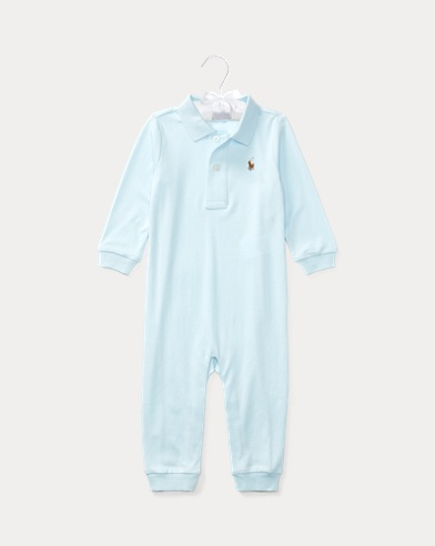 Cotton Interlock Polo Coverall