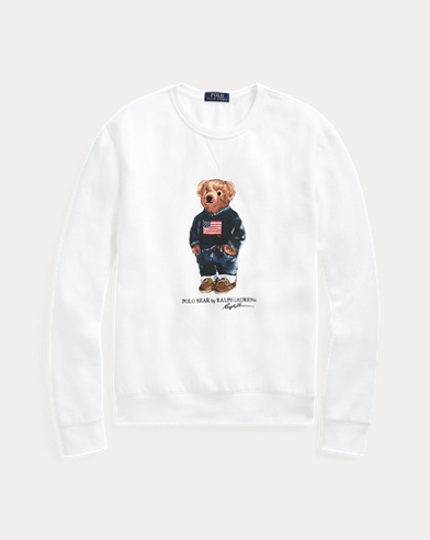 Flag Bear Sweatshirt