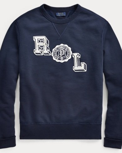 Cotton-Blend-Fleece Sweatshirt