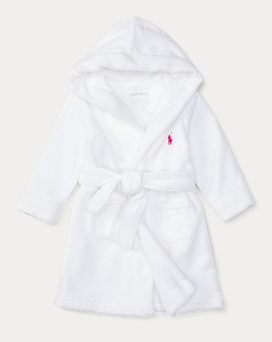 Hooded Cotton Terry Robe