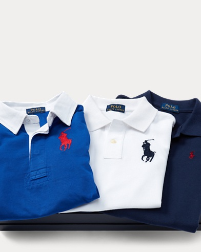 Polo & Rugby 3-Piece Gift Set