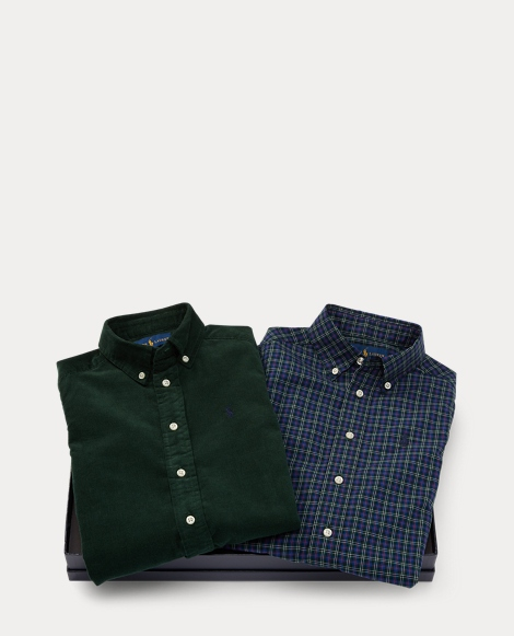 Cotton Shirt 2-Piece Gift Set