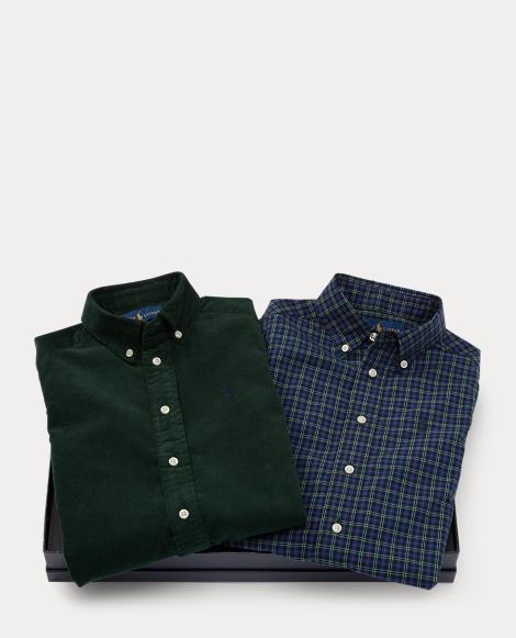 Cotton Shirt 2-Piece Gift Set