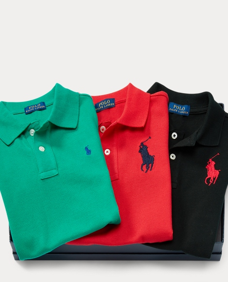 Mesh Polo 3-Piece Gift Set