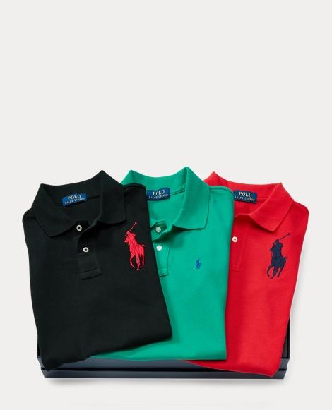 Mesh Polo 3-Piece Gift Set