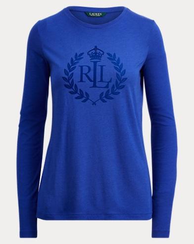 Crest Long-Sleeve T-Shirt