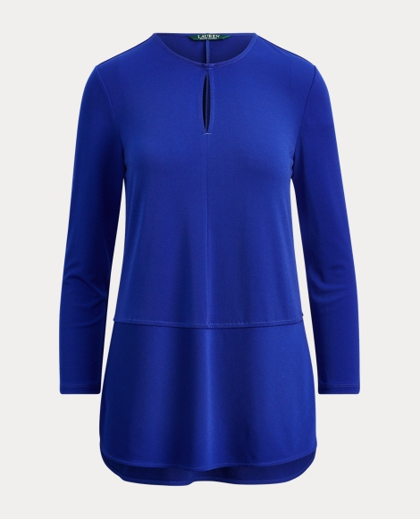 Keyhole Jersey Top
