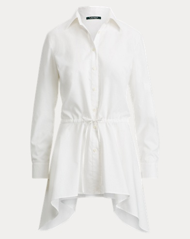 Cotton Fit-and-Flare Shirt