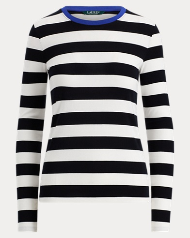 Striped Long-Sleeve T-Shirt