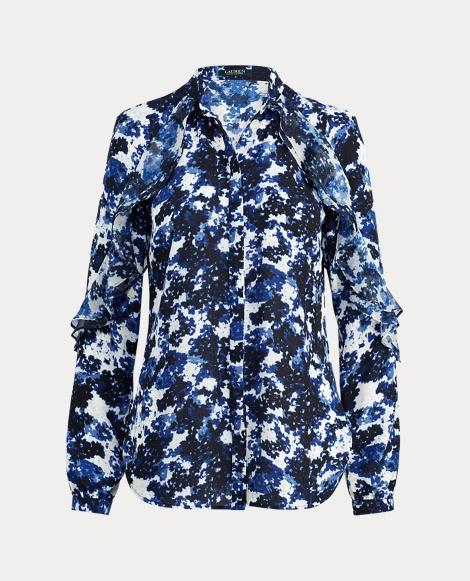 Floral Georgette Shirt