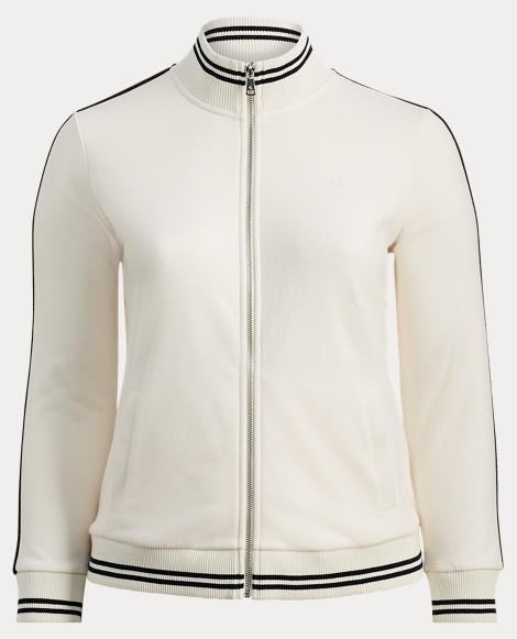 *FrenchTerry Full-Zip Mockneck