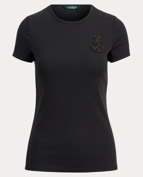 Bullion-Patch Crewneck T-Shirt
