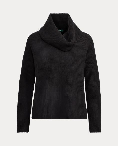 Wool Funnelneck Sweater