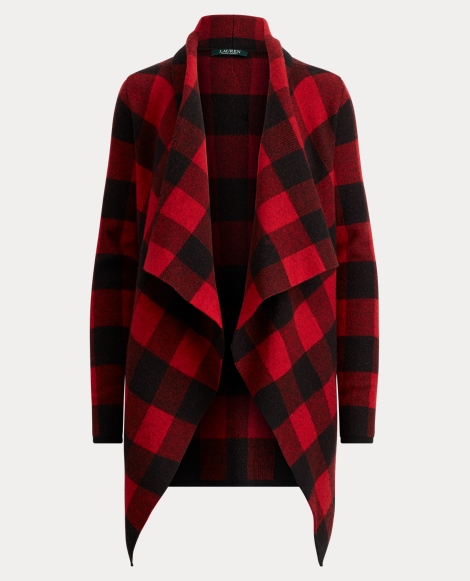 Buffalo Plaid Merino Jacket