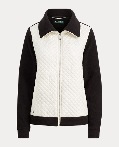 Quilted Fleece Full-Zip Jacket