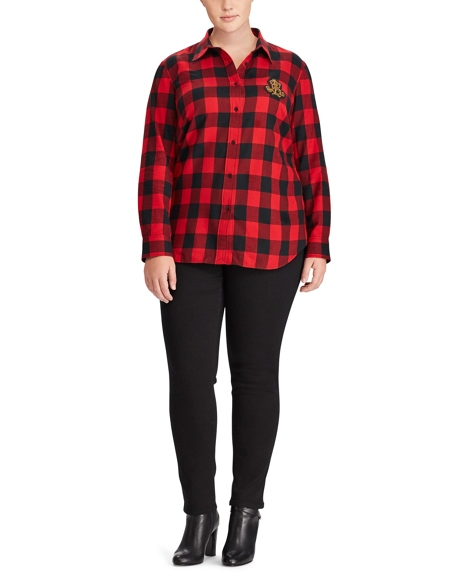 Buffalo Check Flannel Shirt