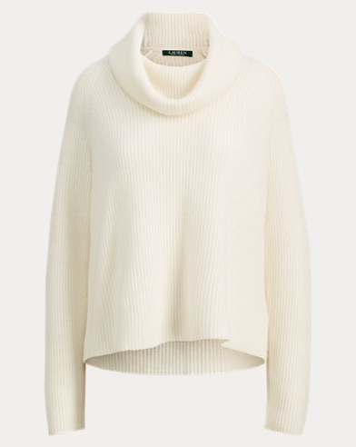 Wool Funnelneck Sweater