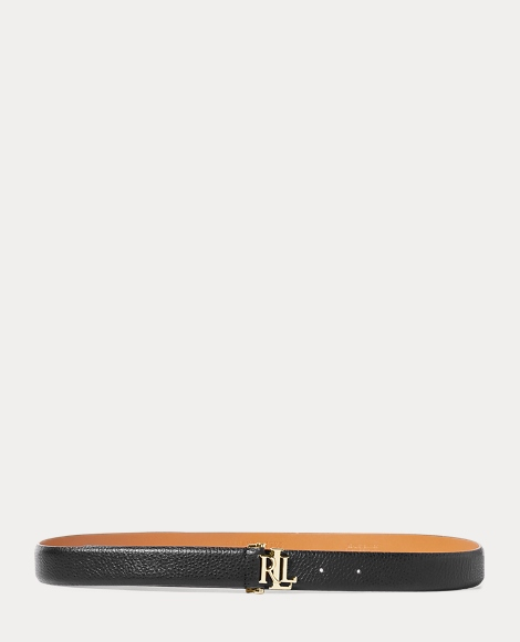 Carrington Leather Skinny Belt